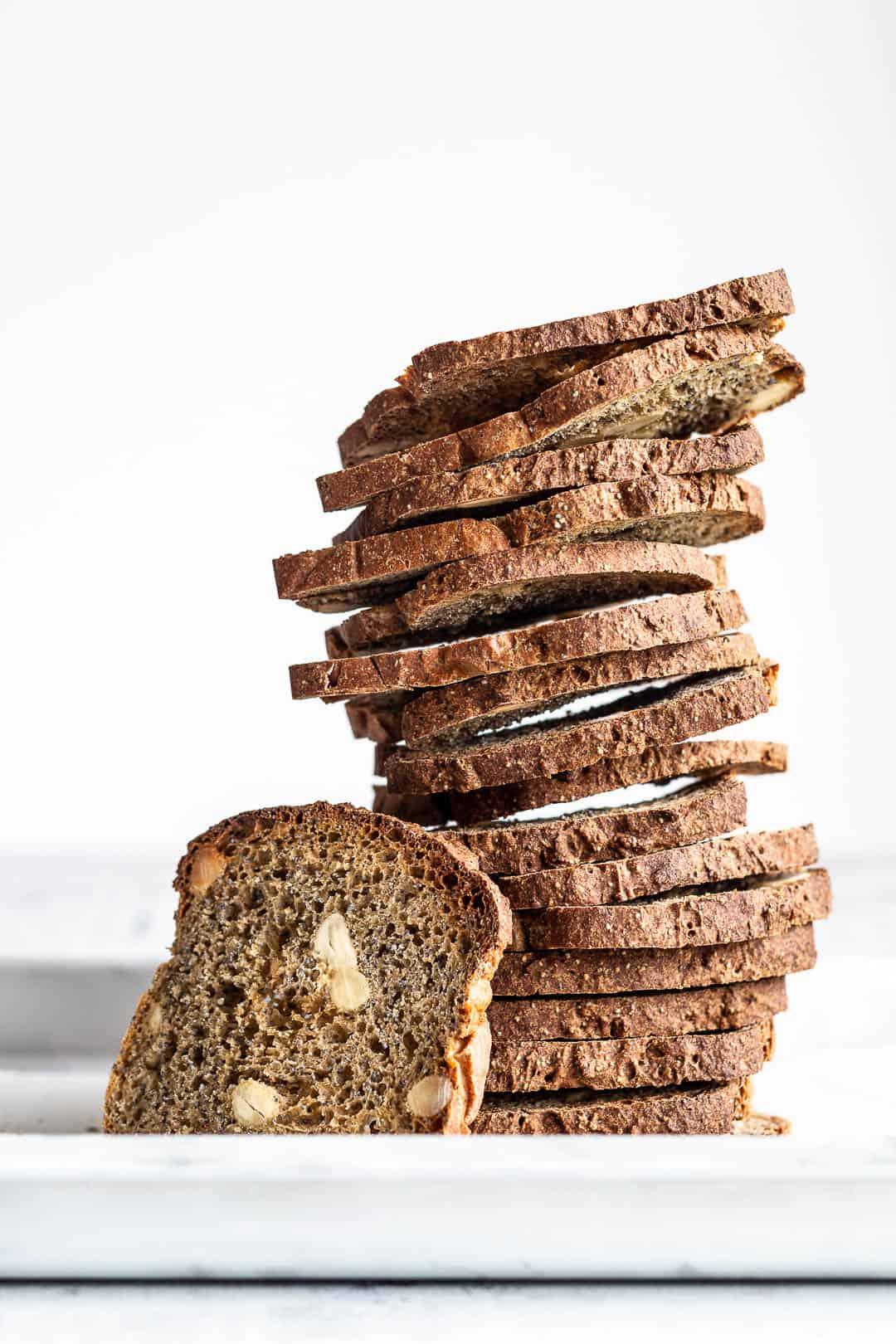 Sprøde brød med birkes og mandler