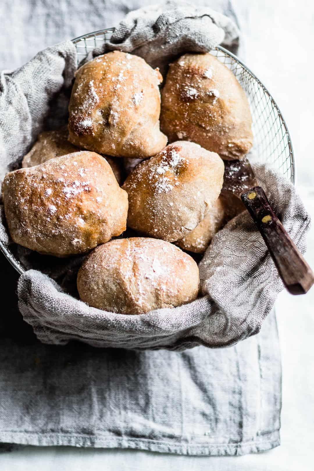 speltboller - opskrift på brød og boller med speltmel - Louise Lyshøj
