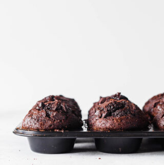 Chokolademuffins - opskrift på muffins med chokolade