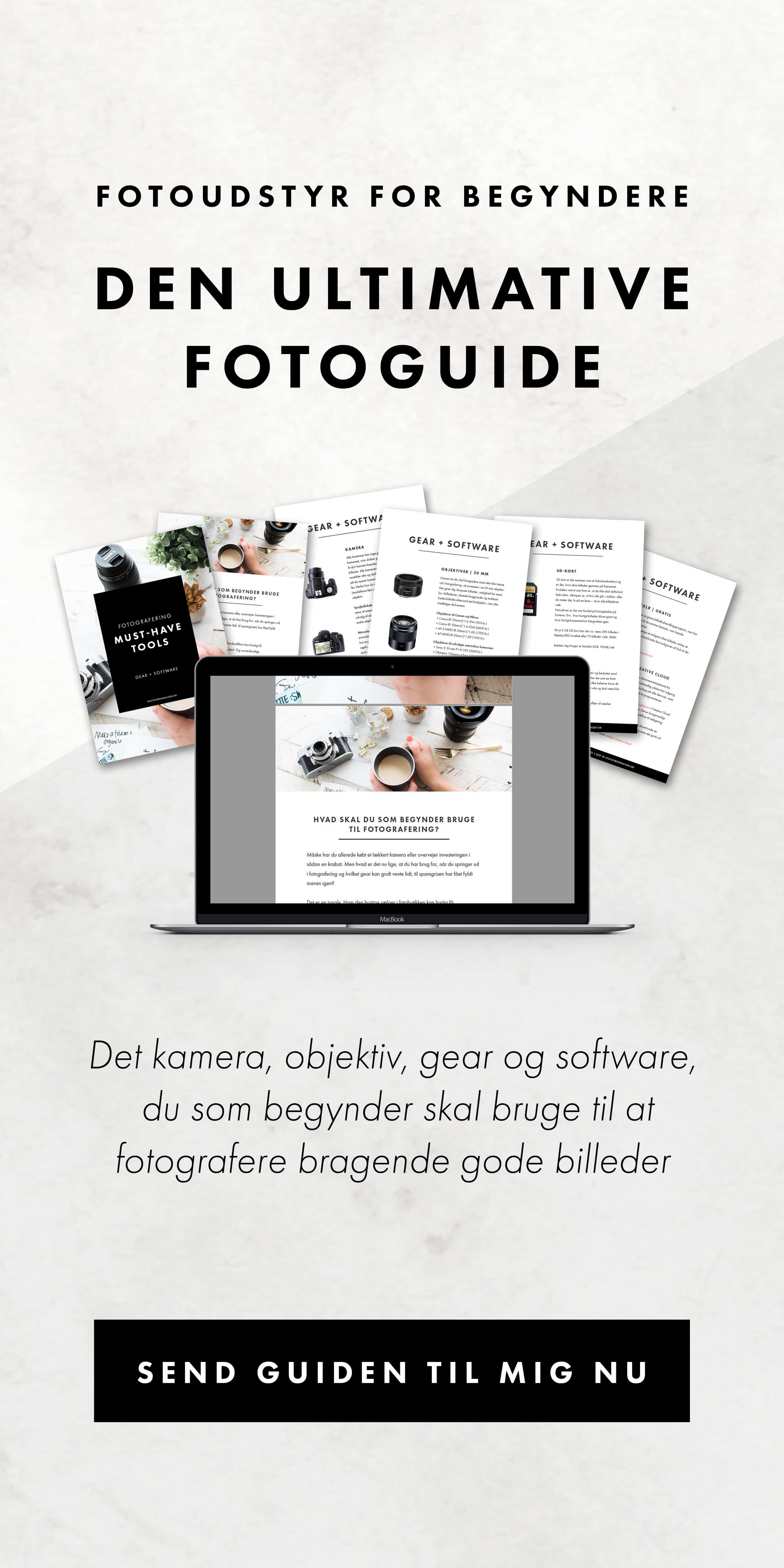 guide til fotoudstyr