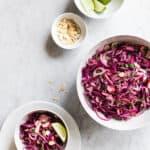 Opskrift på salat med kål