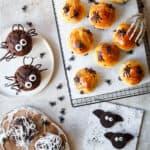 halloween kage og slik - sjove brød og kager til børn