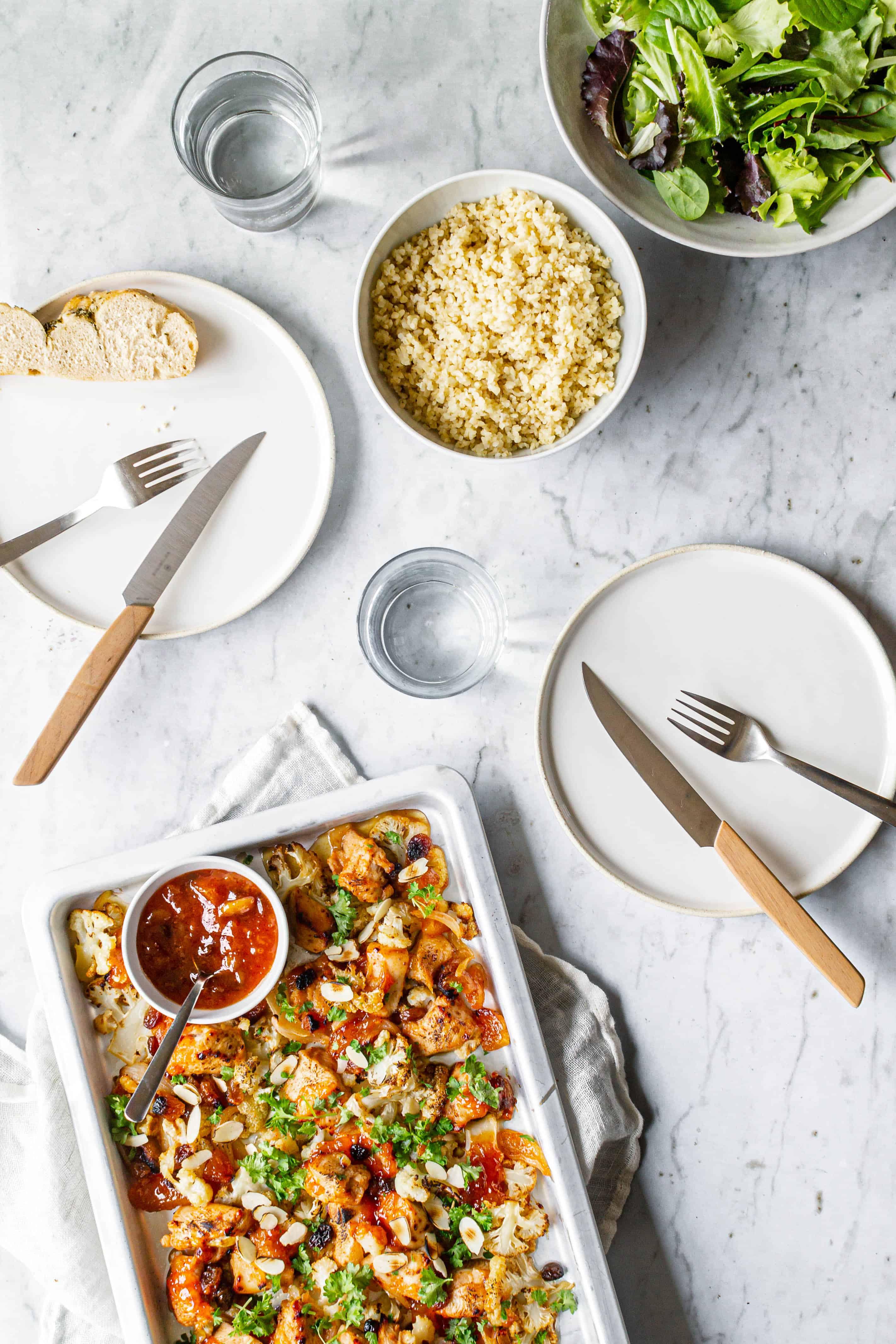 kylling i ovn - aftensmad på 30 minutter
