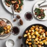 Andebryst med sprøde kartofler - julemiddag - Fiskars Hard Face