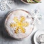 Appelsinkage - opskrift på kage med appelsin - julekage