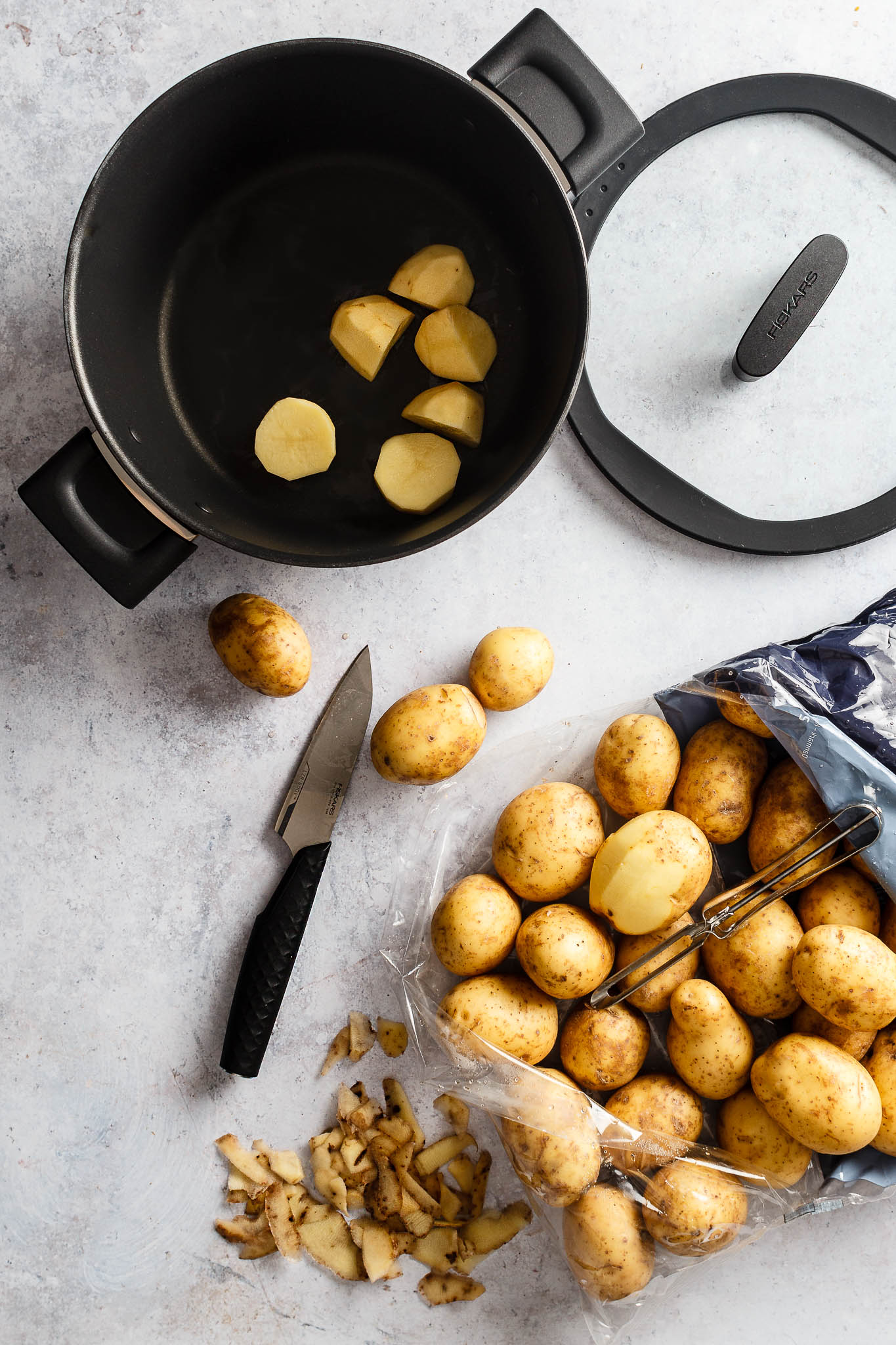 Kartofler - Fiskars Hard Face