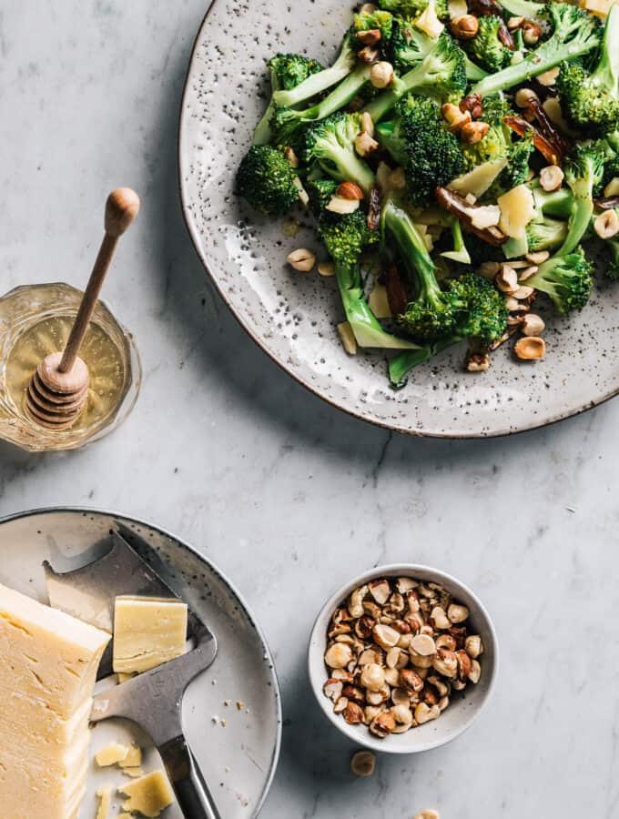 stegt broccol - opskrift på bagt broccoli