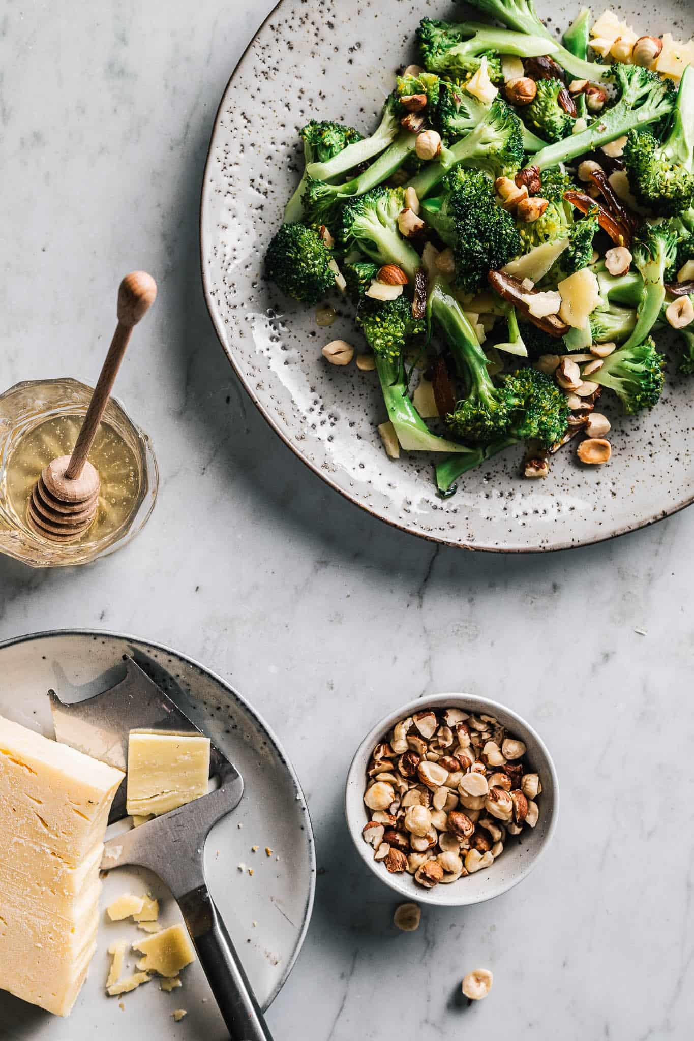 stegt broccol - opskrift på bagt brccoli