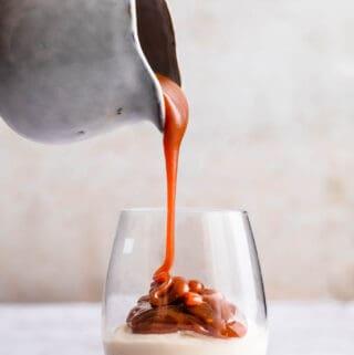 karamelsauce - opskrift på saltet karame
