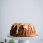 Kardemommekage med æble - opskrift kage med æble og kardemomme