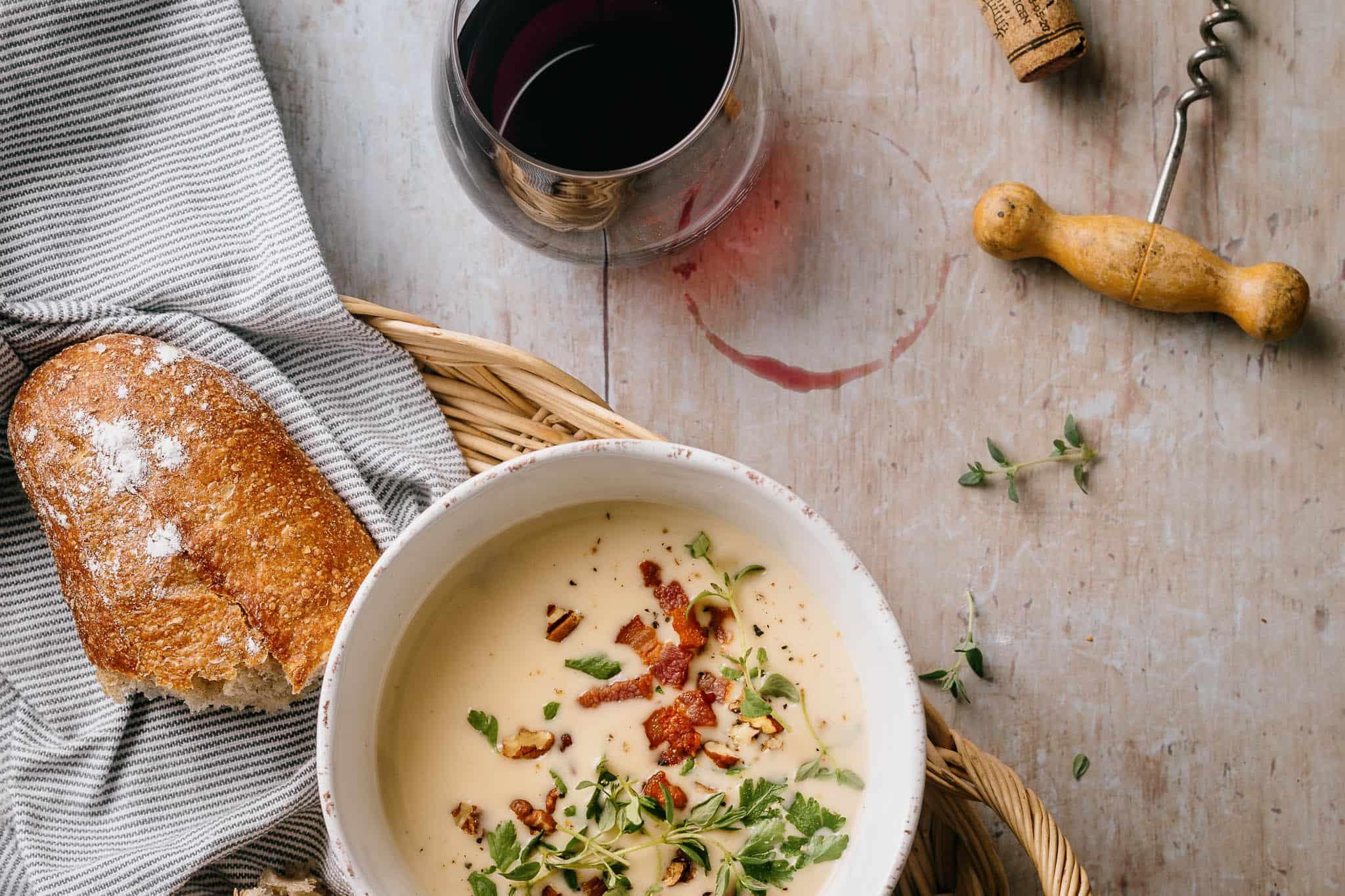 kartoffelsuppe - nem opskrift på suppe -1